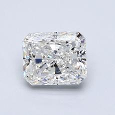 1.00-Carat Radiant Diamond Very Good F VS2