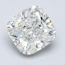 推薦鑽石 #2: 2.05  克拉墊形切割鑽石