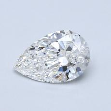 Recommended Stone #1: 0.74-Carat Pear Cut Diamond