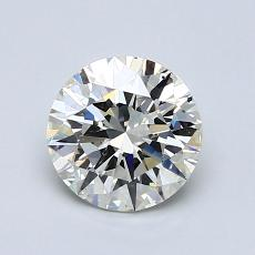 1.04-Carat Round Diamond Ideal K SI1