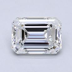 Recommended Stone #1: 1.52-Carat Emerald Cut Diamond