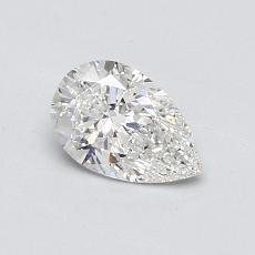 0.53 Carat 梨形 Diamond 非常好 F VS2