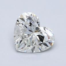 1.02-Carat Heart Diamond Very Good G VVS2