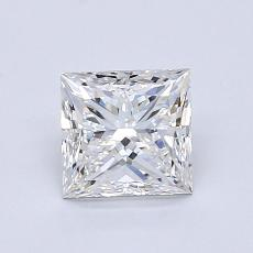 1.01-Carat Princess Diamond Very Good F VVS1