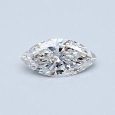 0,31-Carat Marquise Diamond Very Good F VS1