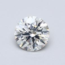 0.71-Carat Round Diamond Ideal I SI1