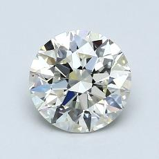 1.30-Carat Round Diamond Ideal K VS2