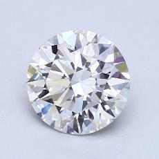 1,32 Carat Rond Diamond Idéale H VS1