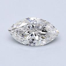0.70-Carat Marquise Diamond Very Good F SI2