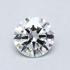 Recommended Stone #2: 0,76-Carat Round Cut Diamond