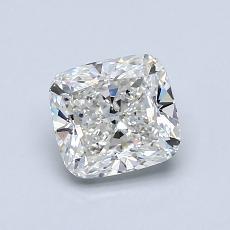 1.03-Carat Cushion Diamond Very Good G VVS2