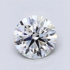 Pierre recommandée n°2: Diamant taille ronde 1,18 carat