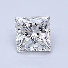 1.01-Carat Princess Diamond Very Good F SI2