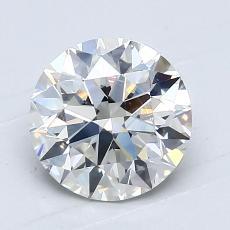 1.21 Carat 圓形 Diamond 理想 H VS2
