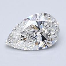 Recommended Stone #3: 1,23-Carat Pear Cut Diamond
