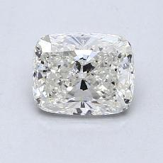 1.01-Carat Cushion Diamond Very Good J SI1