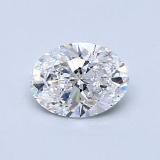 0.70-Carat Oval Diamond Very Good D VS2