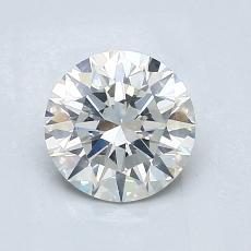 1.07 Carat 圆形 Diamond 理想 I SI2