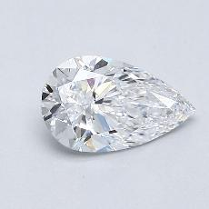 Recommended Stone #1: 0.63-Carat Pear Cut Diamond