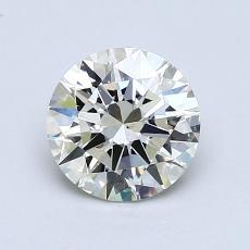 1,06-Carat Round Diamond Ideal K SI1