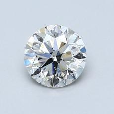 オススメの石No.2:0.90カラットのラウンドカットダイヤモンド