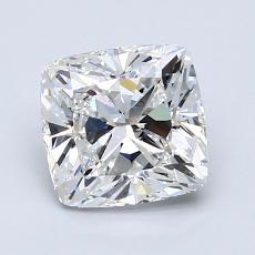 1.70 Carat 墊形 Diamond 非常好 F VVS2