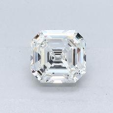 Current Stone: 1.02-Carat Emerald Cut