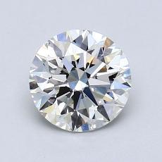 1.21-Carat Round Diamond Ideal H VS1