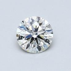 0.71-Carat Round Diamond Ideal I SI2