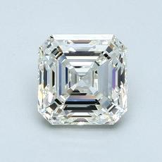 Target Stone: 1.11-Carat Asscher Cut Diamond
