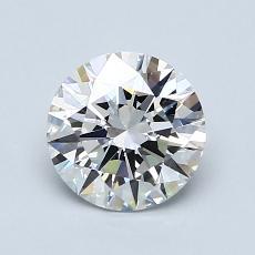 1.11 Carat 圆形 Diamond 理想 F IF