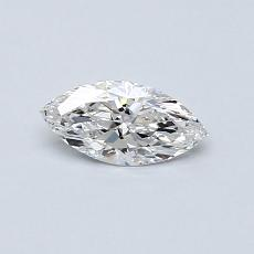 0.33-Carat Marquise Diamond Very Good E IF