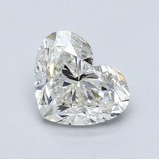 Recommended Stone #3: 1,20-Carat Heart Cut Diamond