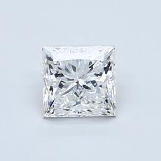 Recommended Stone #3: 0,72-Carat Princess Cut Diamond