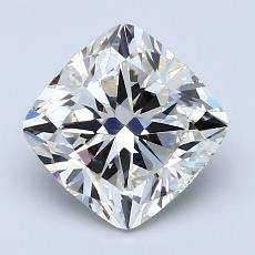 2.01-Carat Cushion Diamond Very Good I VS2