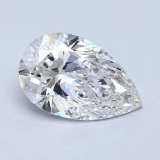 Recommended Stone #4: 1,70-Carat Pear Cut Diamond