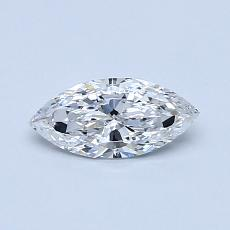 0.37-Carat Marquise Diamond Very Good E VS1