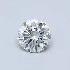 0.53-Carat Round Diamond Ideal G SI1