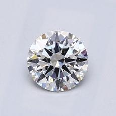 Recommended Stone #4: 0.67-Carat Round Cut Diamond
