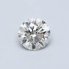 0.51 Carat 圓形 Diamond 理想 K SI1