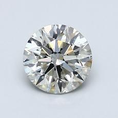 1,00-Carat Round Diamond Ideal I VS2