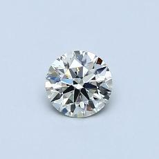 Recommended Stone #1: 0.35-Carat Round Cut Diamond