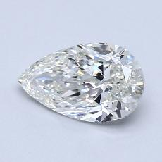 Recommended Stone #4: 1.00-Carat Pear Cut Diamond
