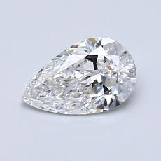 Recommended Stone #2: 0.71-Carat Pear Cut Diamond