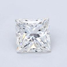 Recommended Stone #3: 1,01-Carat Princess Cut Diamond