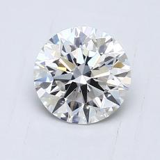 0.75 Carat 圓形 Diamond 理想 F VVS2