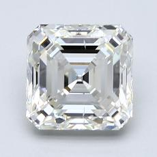 1,75-Carat Asscher Diamond Very Good I VS2