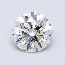1,03-Carat Round Diamond Ideal I VS1