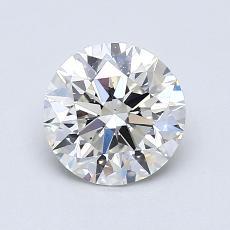1.03-Carat Round Diamond Ideal I VS1