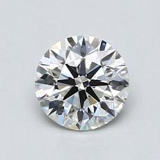 0.50 Carat Redondo Diamond Ideal I SI2